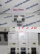 Siemens 5sy43 MCB Interruttore Magnetotermico 400v B16