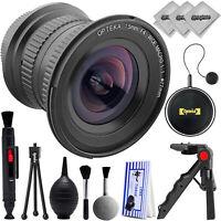 Opteka 15mm f4 Ultra Wide Macro Lens for Canon Digital SLR Cameras