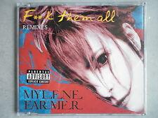 Mylene Farmer cd Maxi Fuck Them All import boîtier cristal