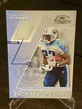 2001 DONRUSS CLASSICS TEAM COLORS EDDIE GEORGE , TITANS !! BOX 30