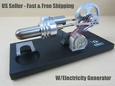 Electricity generator Mini Hot Air Stirling Engine Motor Model Educational
