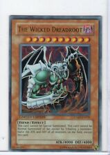 YU-GI-OH THE WICKED DREADROOT (JUMP-EN018) ULTRA RARE HOLO PROMO CARD *UNPLAYED*