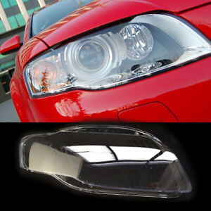 Right Front Side Clear Headlight Headlamp Lens Cover fit for Audi A4 B7 2005-08