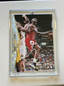 94-95 Upper Deck SP Michael Jordan He's Back Silver & Gold MJ1 Chicago Bulls HOF