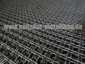 Wellengitter Gitter aus verzinkten Stahl MW 40x40x3
