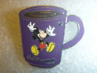 Disney pin - WDW - Cast Lanyard Collection 4 - Coffee Mugs - Mickey Mouse
