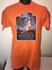 True Vintage 1977 Star Wars T Shirt Medium M 1970s Hanes Tag Rare