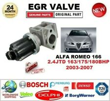 FOR ALFA ROMEO 166 2.4 JTD 163/175/180 bhp 2003-2007 EGR VALVE 2PIN with GASKETS