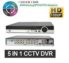 DVR / XVR Camera System 16CH 5-IN-1 AHD/CVI/TVI/IP/Analog 1080P/960H - NO HDD