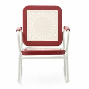 Coral Coast Corby Aluminum Patio Rocking Chair