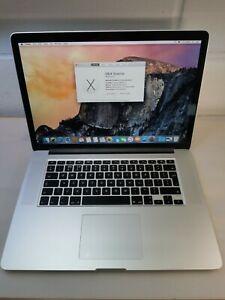 "MacBook Pro A1398 15"" Retina QC Core i7 2.5GHz 16GB 500GB NVMe SSD Mid 2014"