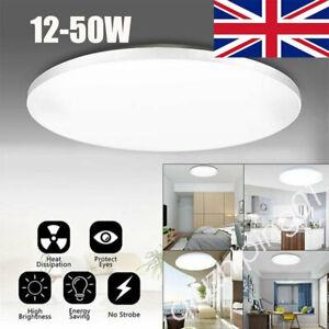 ⭐⭐LED Ceiling Light Panel Down Lights Living Room Bathroom Wall Lamp12W-50W QW
