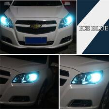 2x Ice Blue T10 194 W5W COB LED Car Super Bright Silica License Plate Light Bulb