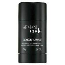 Armani Code by Giorgio Armani Deodorant Stick 2.6 Oz *Alcohol Free* Sealed Tube