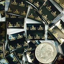 3 Mil 5858 Mini Zip Lock Design Bag Metallic Print 1000pcs Legend 58 X 58