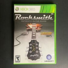 XBOX 360 Rocksmith - Authentic Guitar Games - Good Condition - No Cable