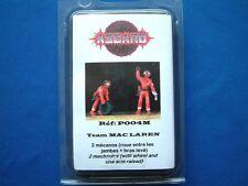 ASGARD P004M METAL KIT - POLE POSITION - 1:43 SCALE - 2 x MCLAREN RACE MECHANICS