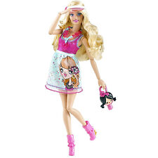 2009 BARBIE FASHIONISTAS Wave 2 CUTIE DOLL #T3324  ~*Fully Poseable!*~ NEW
