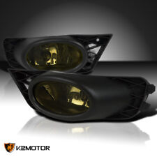 For 2009-2011 Honda Civic 4dr Sedan JDM Smoke Lens Fog Bumper Lights+Switch+Wire