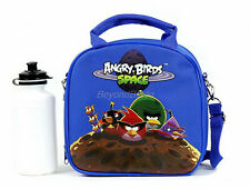 Angry Birds Blue Lunch Box Lunch Bag and Adjustable Strap Insulated for Kids