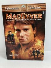 MacGyver The Complete First Season 1 Dvd 2005 Release 6-Disc Set 1985-86