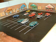Low Relief Retail Park Self Assembly Card Kit 4 Outlet stores suit Corner Site