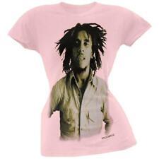Bob Marley - Sepia Basic Juniors T-Shirt