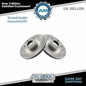 Front Vented Disc Brake Left & Right Pair for 05-12 Tacoma Pickup Truck 2WD