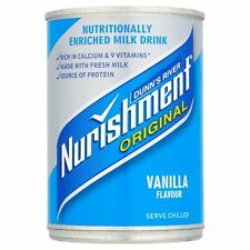 DUNN'S RIVER NURISHMENT ORIGINAL BIG CAN VANILLA FLAVOUR case of 12 x 400g Dunns