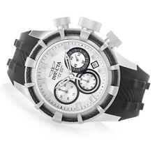 Invicta 50mm Bolt Quartz Chronograph 22147 Silicone Strap Watch ,New