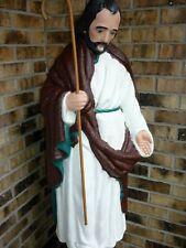 "TPI Nativity Blow Mold Joseph w/staff Christmas Illuminated Lighted Plastic 36"""