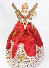GISELA GRAHAM CHRISTMAS NUTCRACKER TREE TOP FAIRY ANGEL