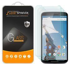 3X Supershieldz Motorola Google Nexus 6 Tempered Glass Screen Protector Saver