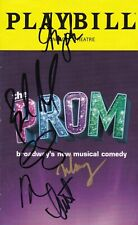 """""""The Prom""""  - Signed Playbill -  Signed by Brooks Ashmanskas"""