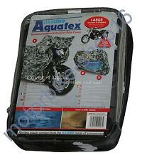 Oxford Aquatex Cover Camo Out/Indoor Motorcycle Cover size L Large OF908