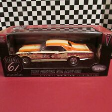 "Highway 61,1966 Pontiac GTO,""Arnie Beswick""Drag car,1:18 scale diecast model car"