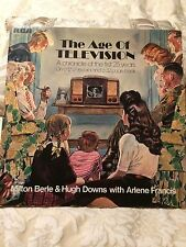 Vintage RCA The Age Of Television 33 1/3 LP and 32 Page Book 25Th Anniversary