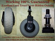 Pride GoGo Ultra X 3 Wheel & Others Mobility Scooter Front Fork W/Flat Free Tire