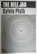 THE BELL JAR new POSTER of '60s Sylvia Plath Book Cover (A1 size)