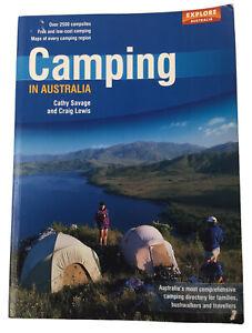 Camping In Australia - Craig Lewis Cathy Savage - Explore Australia - Free Post