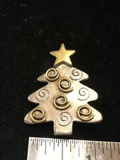 Tree Pin Brooch Pendant Estate Hob Sterling Mexico Christmas