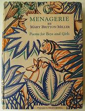 Mary Britton Miller Menagerie, Menagerie, illustrierte Bücher, Kinderbücher,