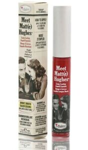 The Balm Meet Matte Hughes Liquid Lipstick 7.4ml Devoted Bright Red TheBalm New