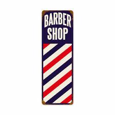 Barber Pole Barber Shop Werbung Barbier Rasierer Retro Sign Blechschild Schild
