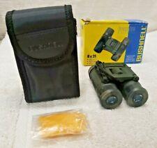Bushnell Powerview 8x21 Camo Binoculars Hunting Birdwatching