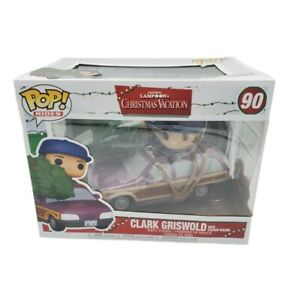 National Lampoon Christmas Vacation Clark with Station Wagon Funko Pop! 90