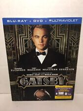 The Great Gatsby (Blu-ray,dvd 2013)