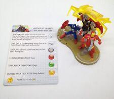 Heroclix Chaos War set Avengers Prime #060 Chase figure w/card!