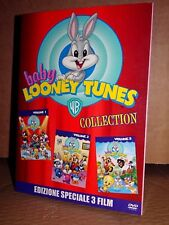 BABY LOONEY TUNES COLLECTION Box 3 DVD Slipcase Mondadori NUOVO SIGILLATO!!!