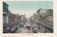 NEW YORK CITY - Bowery - udb (pre 1908)